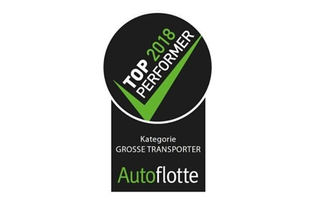 Der Top Performer Award 2018 für den VW Crafter.