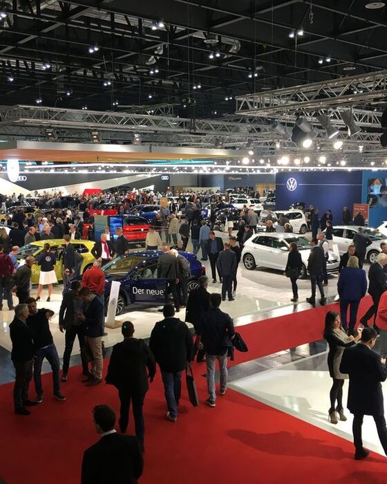 VW Messestand Vienna Autoshow 2020