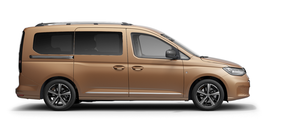 VW Caddy Style Maxi in Copperbronze.