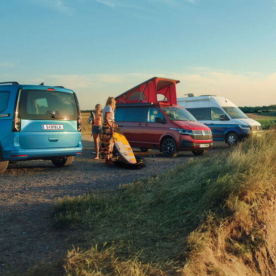 Die VW California Range Reisemobile