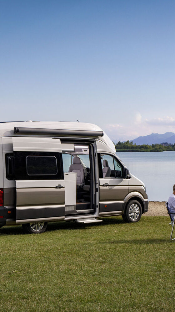 VW Grand California am See