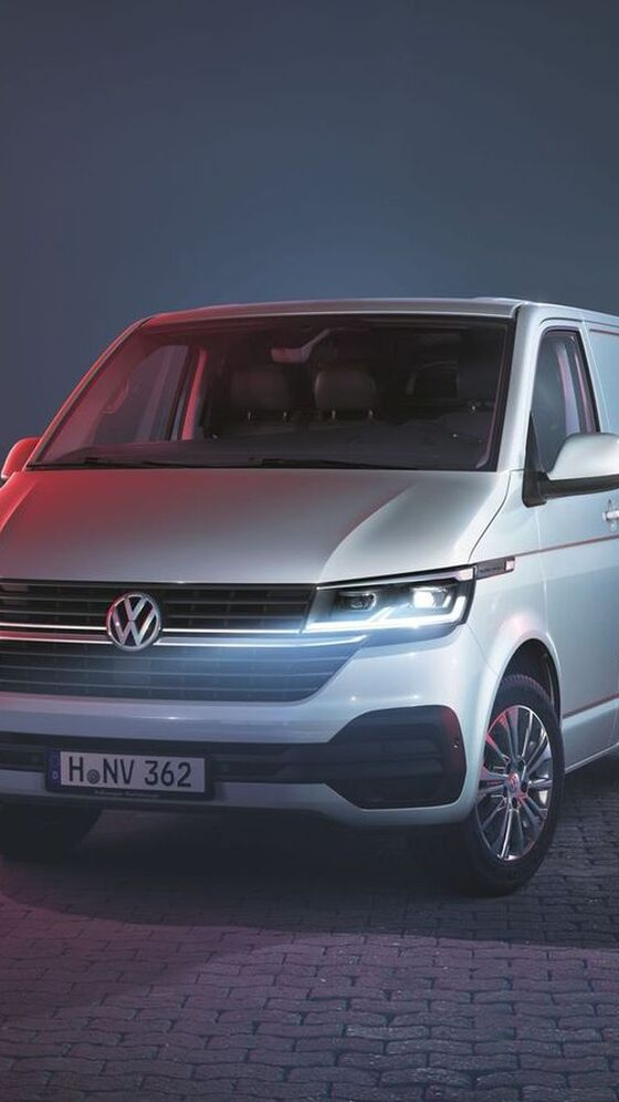 VW Transporter 6.1 Weiss Halle
